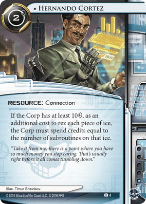 Android Netrunner Hernando Cortez Image