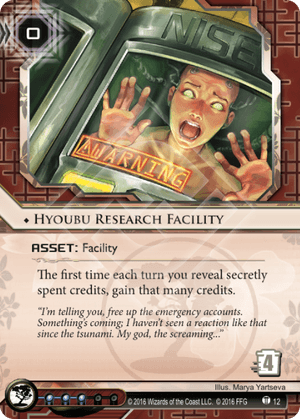 Android Netrunner Hyoubu Research Facility Image