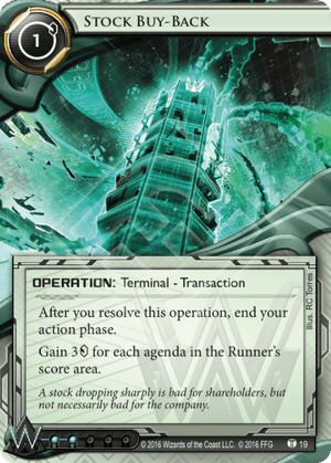 Android Netrunner Stock Buy-Back Image