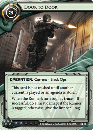 Android Netrunner Door to Door Image