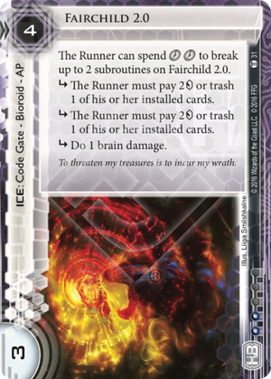 Android Netrunner Fairchild 2.0 Image