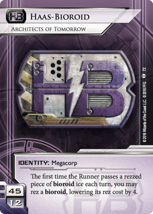 Android Netrunner Haas-Bioroid: Architects of Tomorrow Image