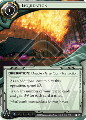 Android Netrunner Liquidation Image