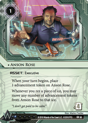 Android Netrunner Anson Rose Image