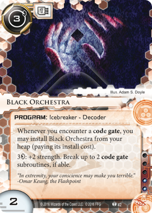 Android Netrunner Black Orchestra Image