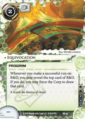 Android Netrunner Equivocation Image