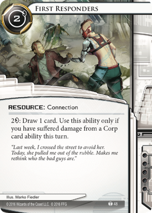 Android Netrunner First Responders Image