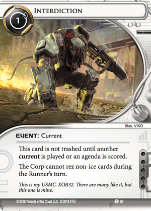 Android Netrunner Interdiction Image