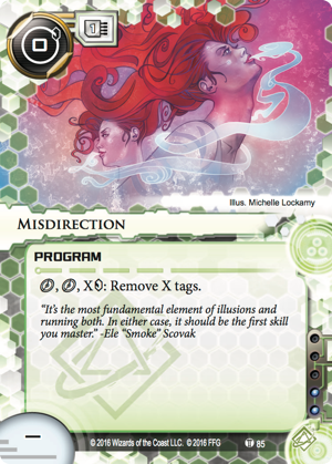 Android Netrunner Misdirection Image