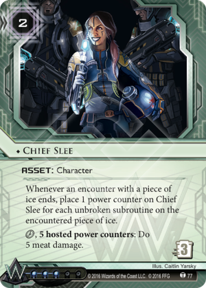 Android Netrunner Chief Slee Image
