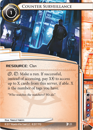 Android Netrunner Counter Surveillance Image