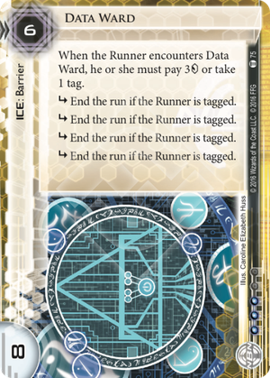 Android Netrunner Data Ward Image