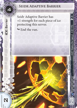 Android Netrunner Seidr Adaptive Barrier Image