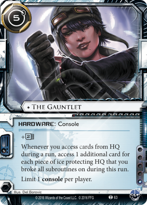 Android Netrunner The Gauntlet Image
