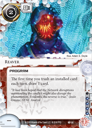 Android Netrunner Reaver Image