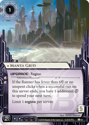 Android Netrunner Manta Grid Image