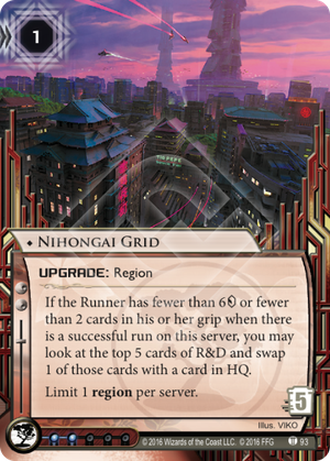 Android Netrunner Nihongai Grid Image