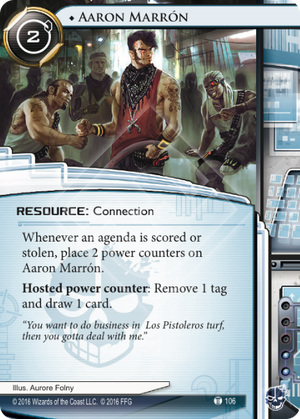 Android Netrunner Aaron Marrón Image