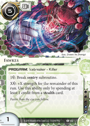 Android Netrunner Fawkes Image