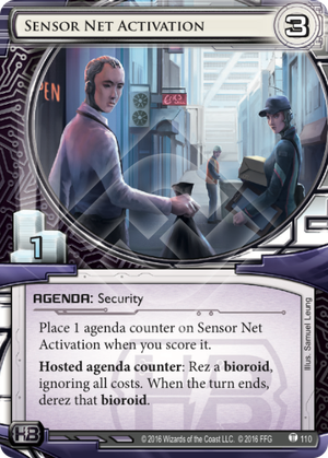 Android Netrunner Sensor Net Activation Image