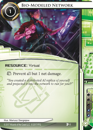 Android Netrunner Bio-Modeled Network Image