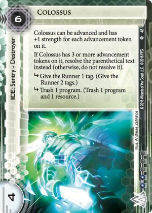Android Netrunner Colossus Image