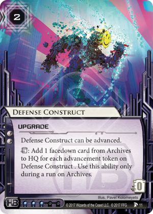 Android Netrunner Defense Construct Image