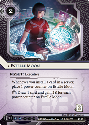 Android Netrunner Estelle Moon Image