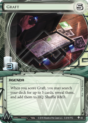 Android Netrunner Graft Image