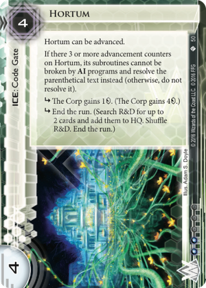 Android Netrunner Hortum Image