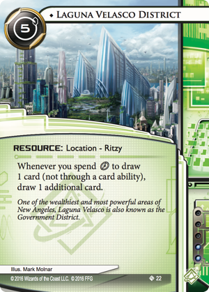 Android Netrunner Laguna Velasco District Image