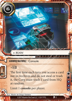 Android Netrunner Maw Image