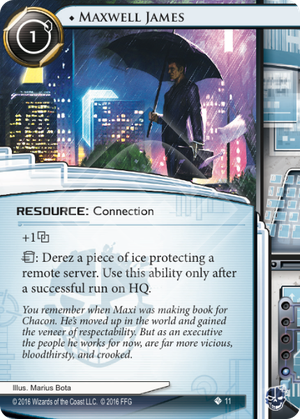 Android Netrunner Maxwell James Image