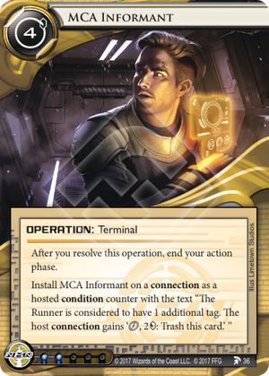 Android Netrunner MCA Informant Image
