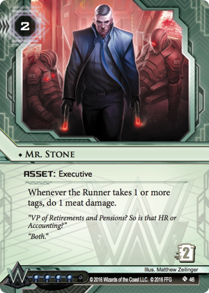 Android Netrunner Mr. Stone Image