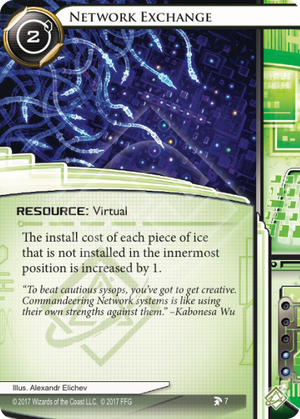Android Netrunner Network Exchange Image
