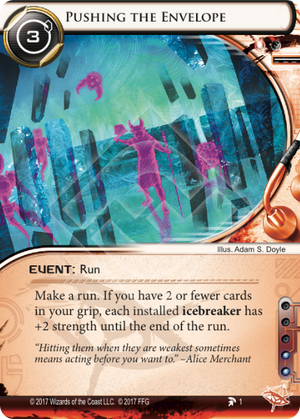 Android Netrunner Pushing the Envelope Image
