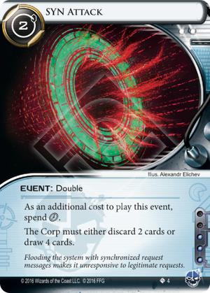 Android Netrunner SYN Attack Image