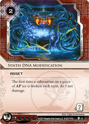 Android Netrunner Synth DNA Modification Image