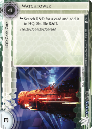 Android Netrunner Watchtower Image