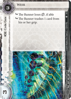 Android Netrunner Weir Image