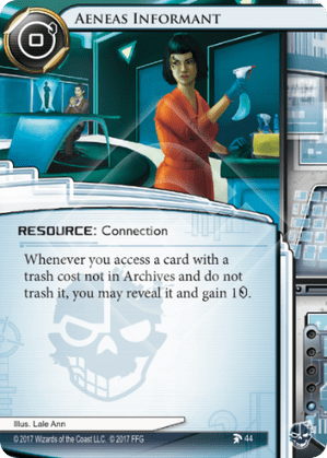 Android Netrunner Aeneas Informant Image