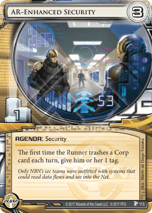 Android Netrunner AR-Enhanced Security Image