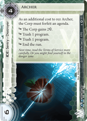 Android Netrunner Archer Image