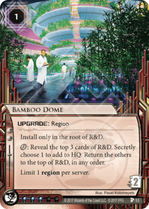 Android Netrunner Bamboo Dome Image