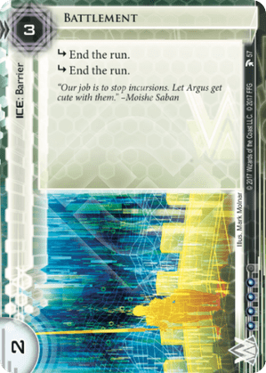 Android Netrunner Battlement Image