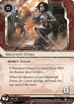 Android Netrunner Breached Dome Image