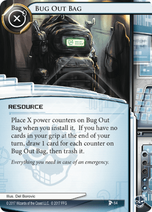 Android Netrunner Bug Out Bag Image