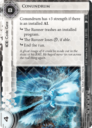 Android Netrunner Conundrum Image