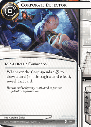Android Netrunner Corporate Defector Image